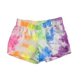 Firehouse Bright Tie Dye Swirl Shorts