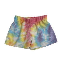 Firehouse Rainbow Swirled Shorts