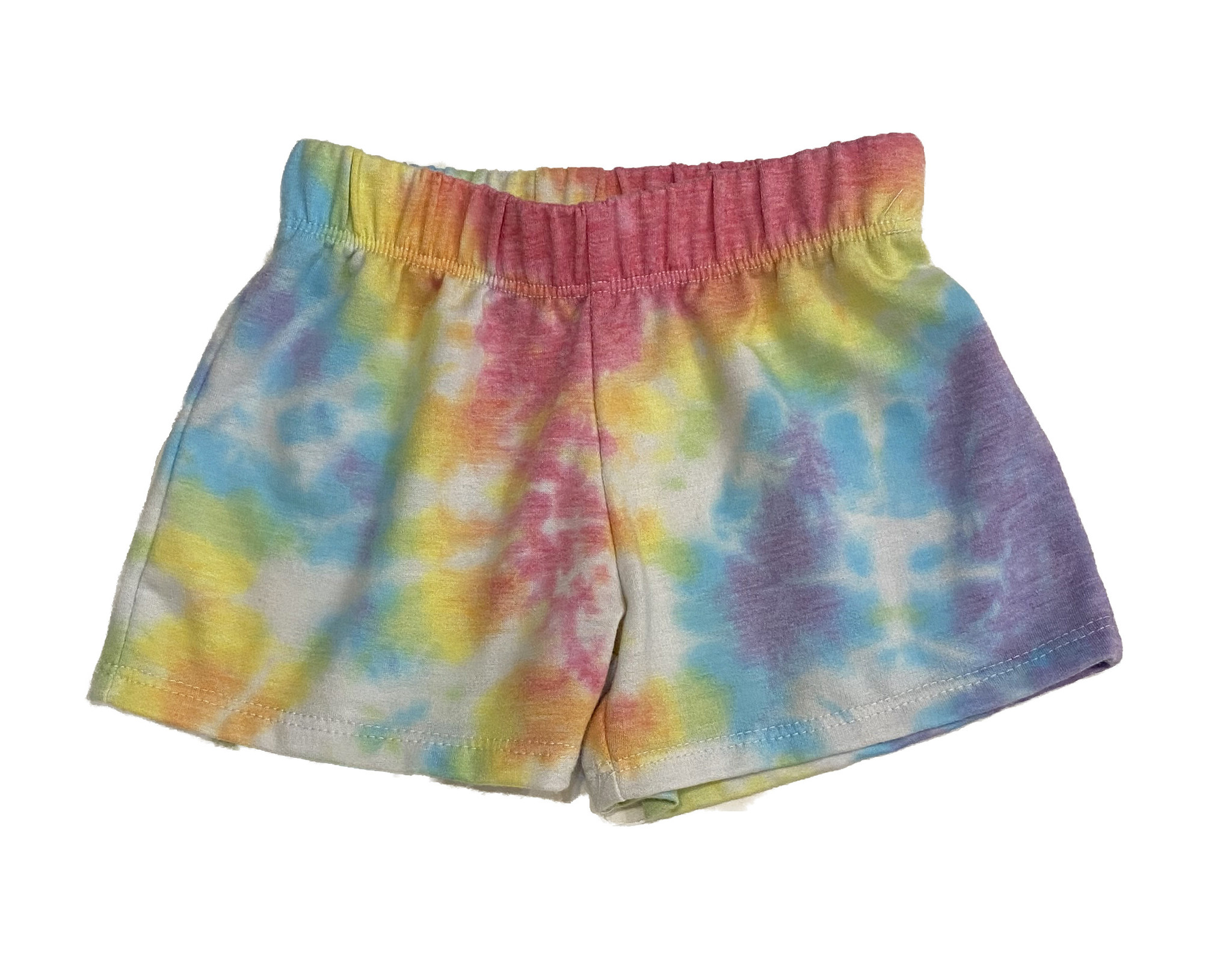 Firehouse Rainbow Swirled Shorts