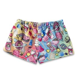 Planet Sweets Plush Lounge Shorts