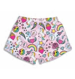 Unicorn Life Plush Lounge Shorts