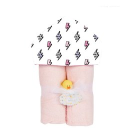 Baby Jar Pink Bolt Towel