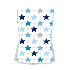 Baby Jar Blue Star Burb Cloth