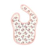 Baby Jar Pink Duck Bib