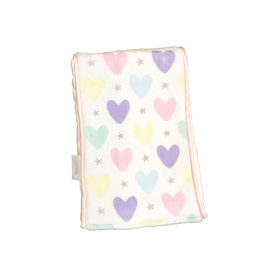 Baby Jar Multi Heart Burp Cloth