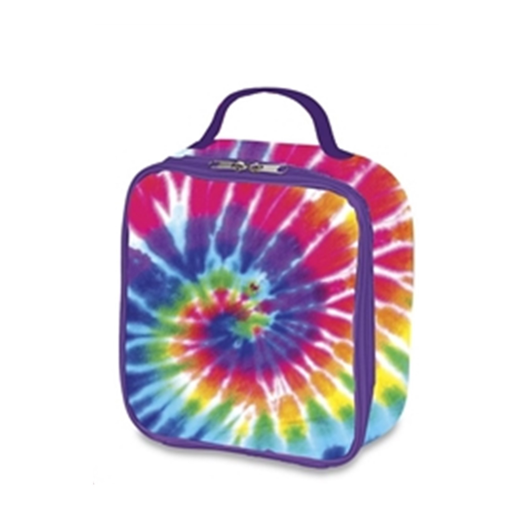Primary Tie Dye Lunch Box