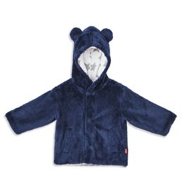 Magnetic Me Navy Minky Fleece Jacket