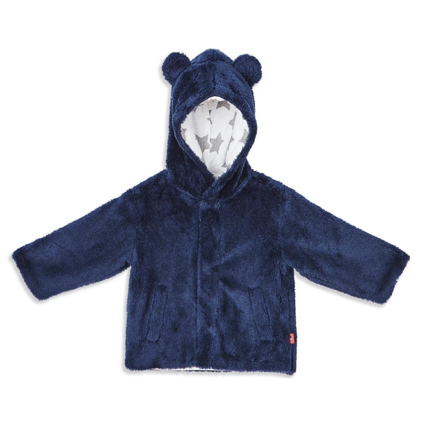 Magnetic Me Navy Minky Fleece Jacket
