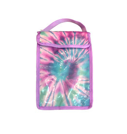 Pink/Blue Tie Dye Snack Bag