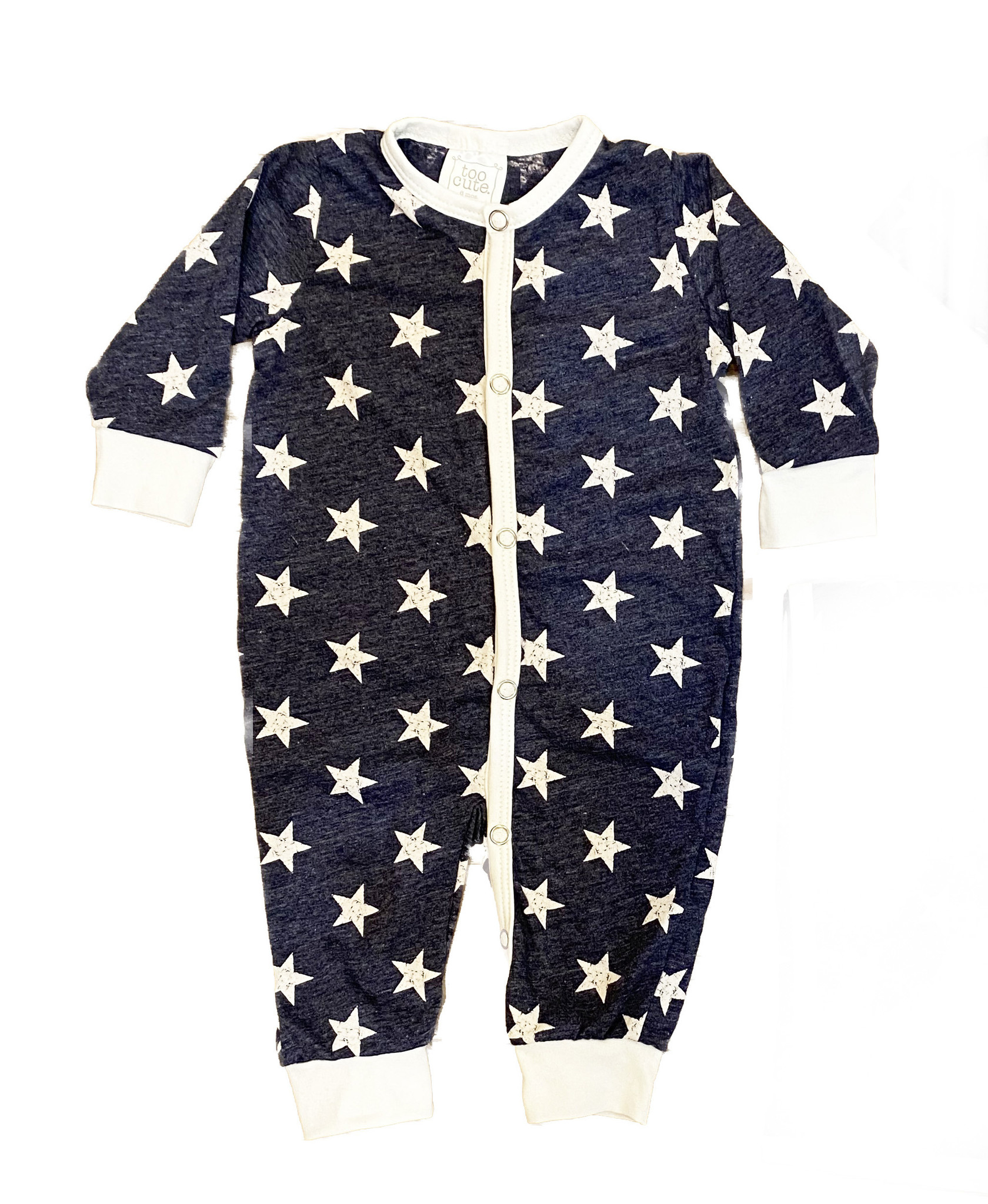Too Cute Denim Stars Outfit