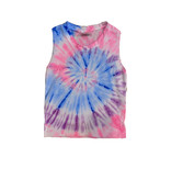 Firehouse New Neon Tie Dye Tank Top