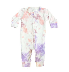 Too Cute Pink-Lavender Tie Dye Outfit