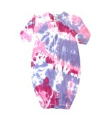 Baby Steps Pink/Purple Tie Dye Converter Gown