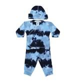 Baby Steps Navy/Light Blue Tie Dye 3pc Set