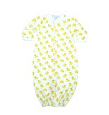 Baby Steps Yellow Ducks Converter Gown NB