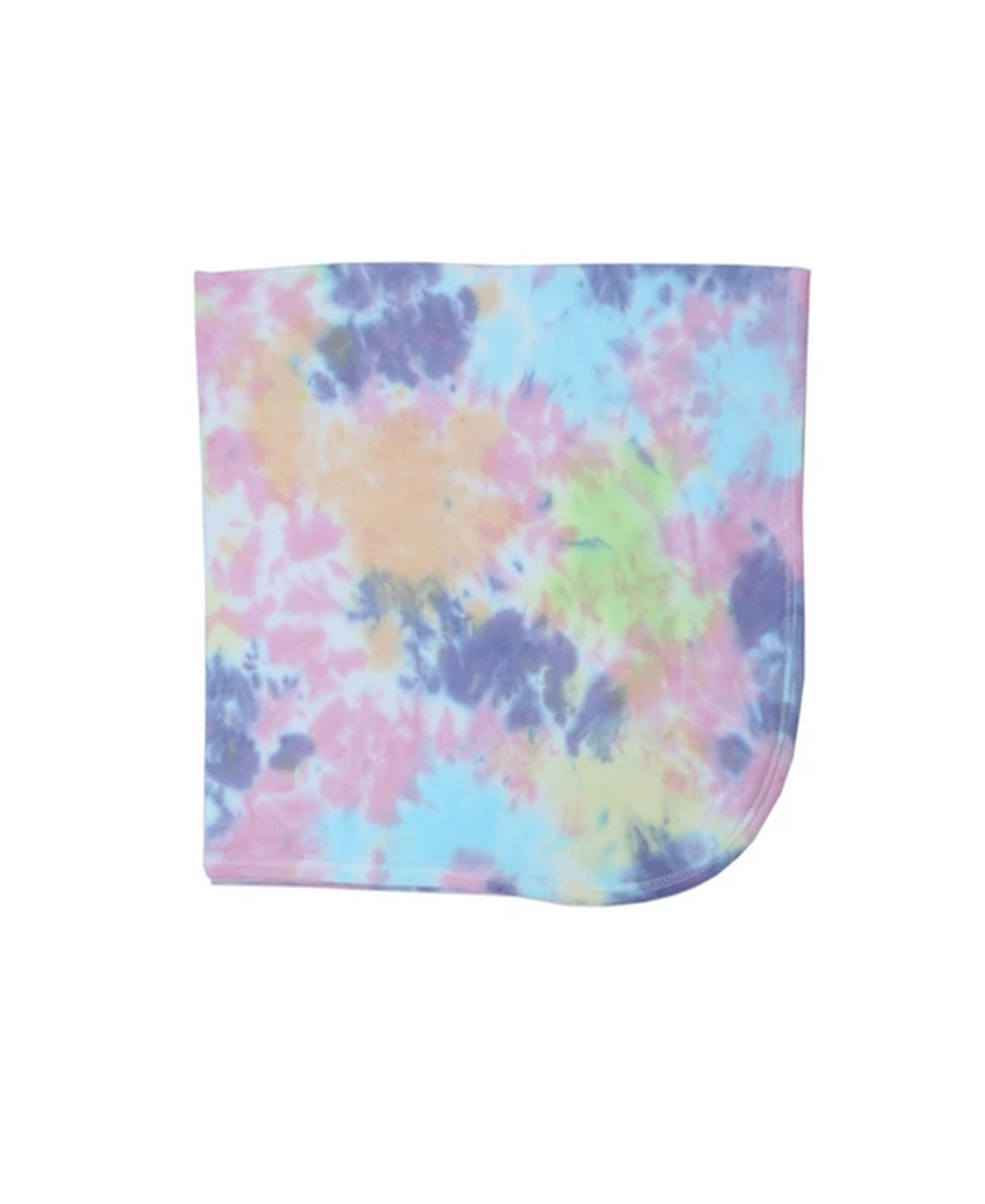 Baby Steps Multi Color Tie Dye Blanket