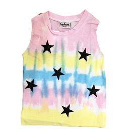Firehouse Sherbert Tie Dye With Stars Tank