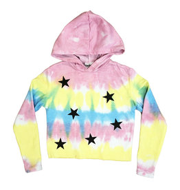 Firehouse Sherbert Tie Dye With Stars Sweatshirt