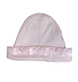 Baby Steps Rosettes Hat Light Pink