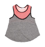 Joah Love Neon Mesh Infant Tank