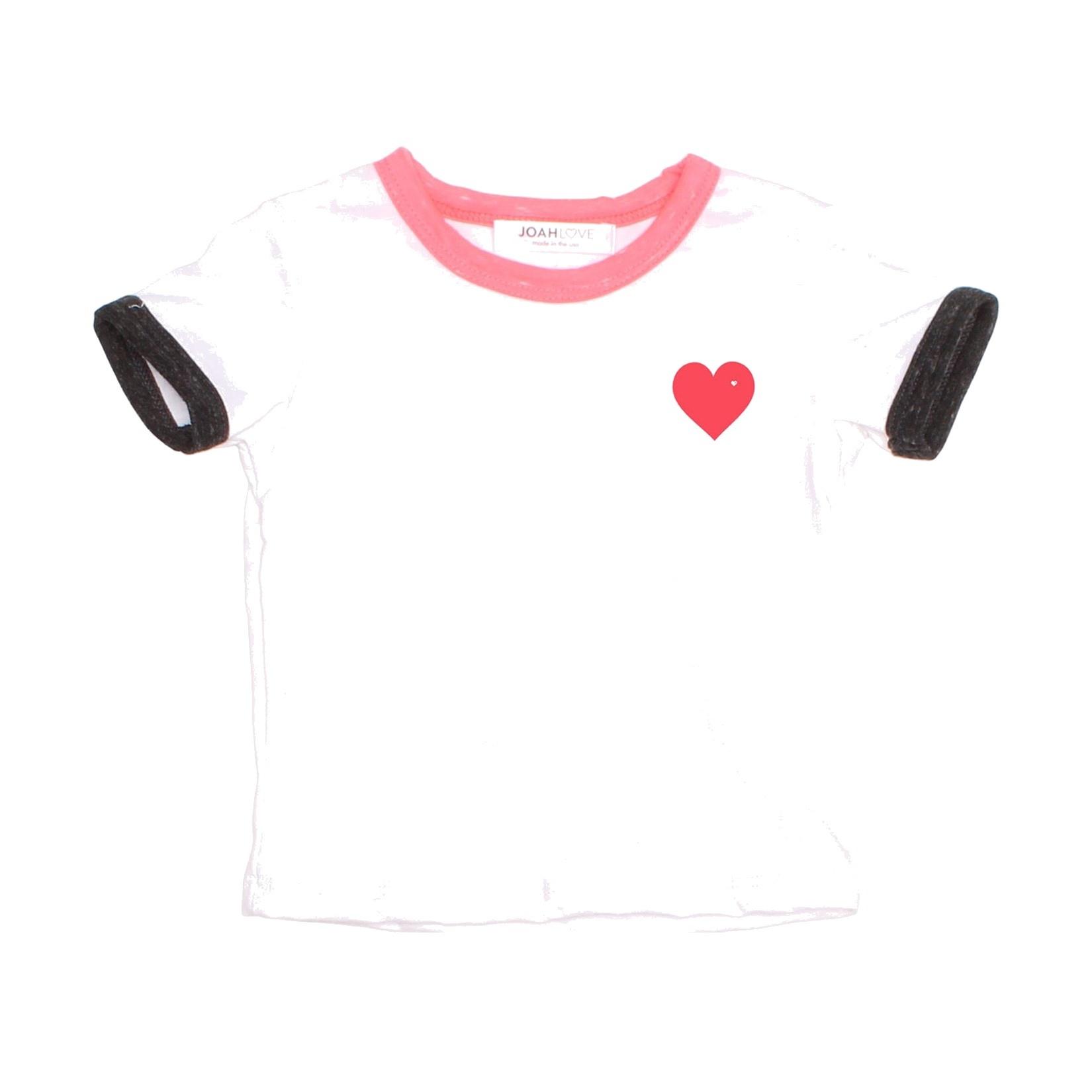 Joah Love Neon Heart Infant Tee