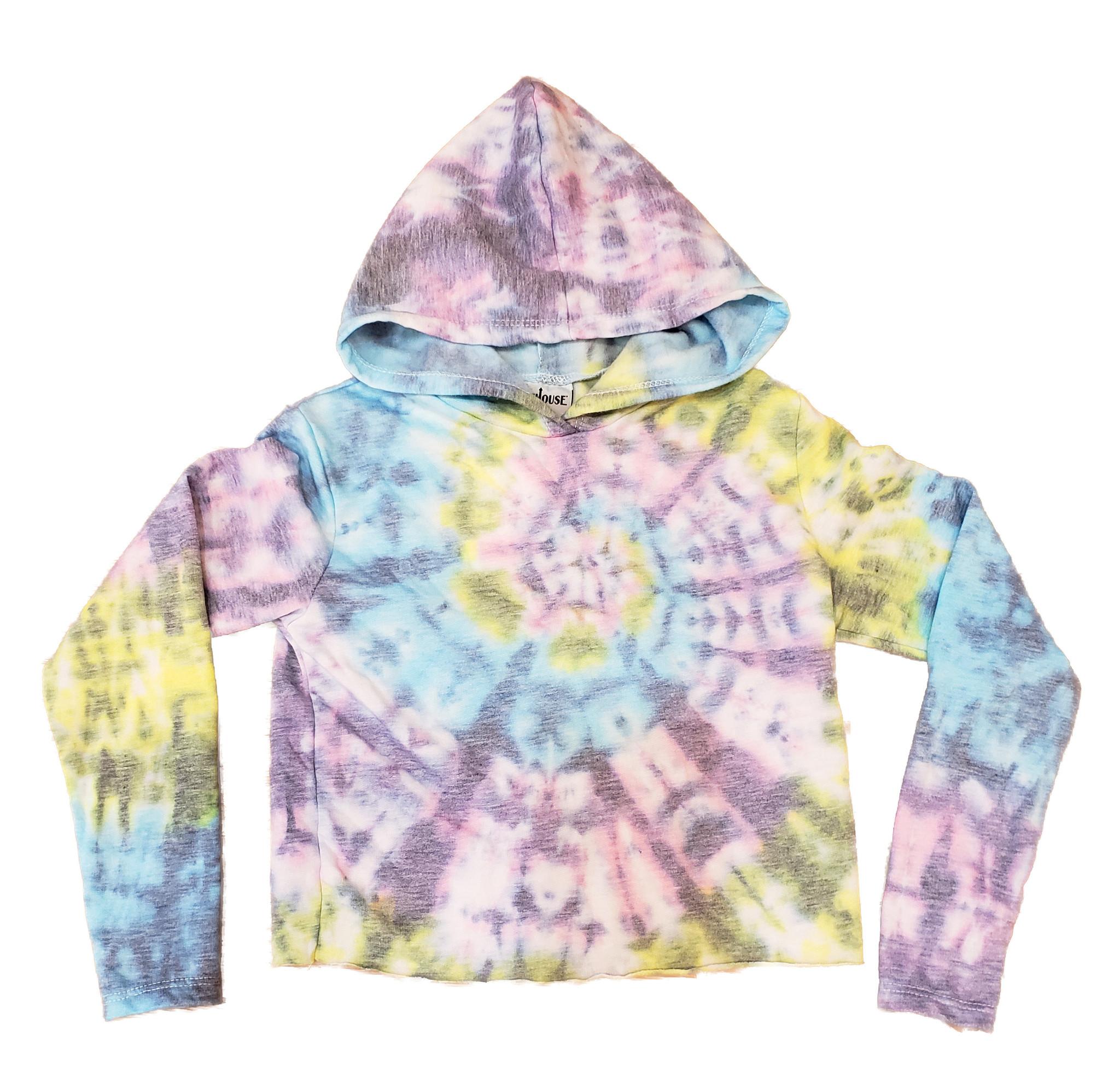 Firehouse Pastel / Grey Tie Dye Sweatshirt