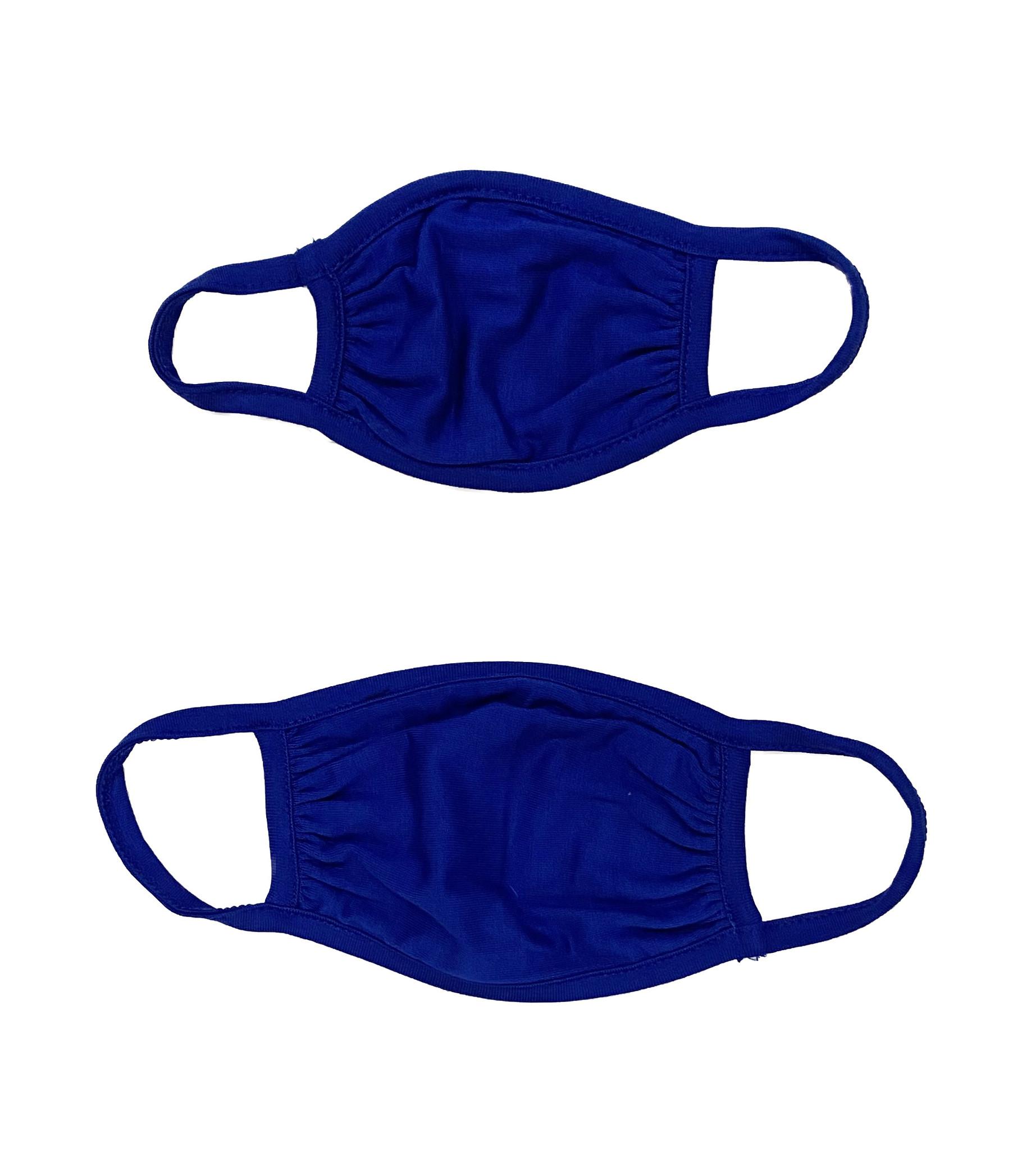 Sofi Solid Cobalt Mask for Toddler & Kids