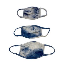 Sofi Denim Tie Dye Mask - Tod,Kids,Adult