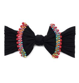 Baby Bling Black Cinco Headband