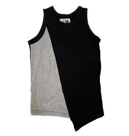 Nununu Black/Grey Assymetric Tank
