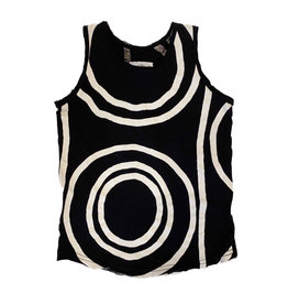 Nununu Black Circle Tank