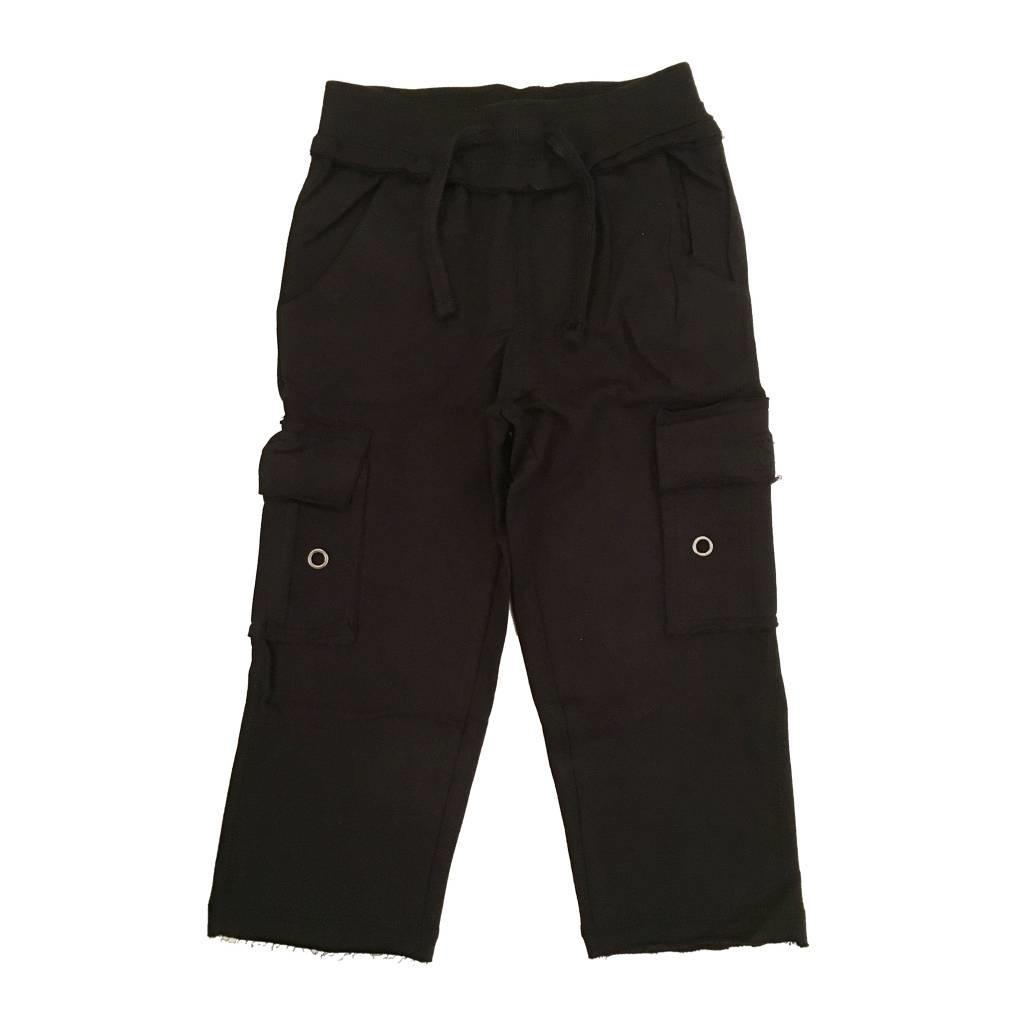 Mish Black Infant Cargo Pants