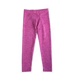Dori Creations Pink/White Heathered Legging