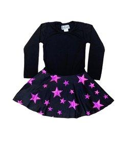 Dori Creations Hot Pink Star Dress