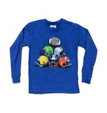 Wes & Willy Infant Heather Blue Helmet Top