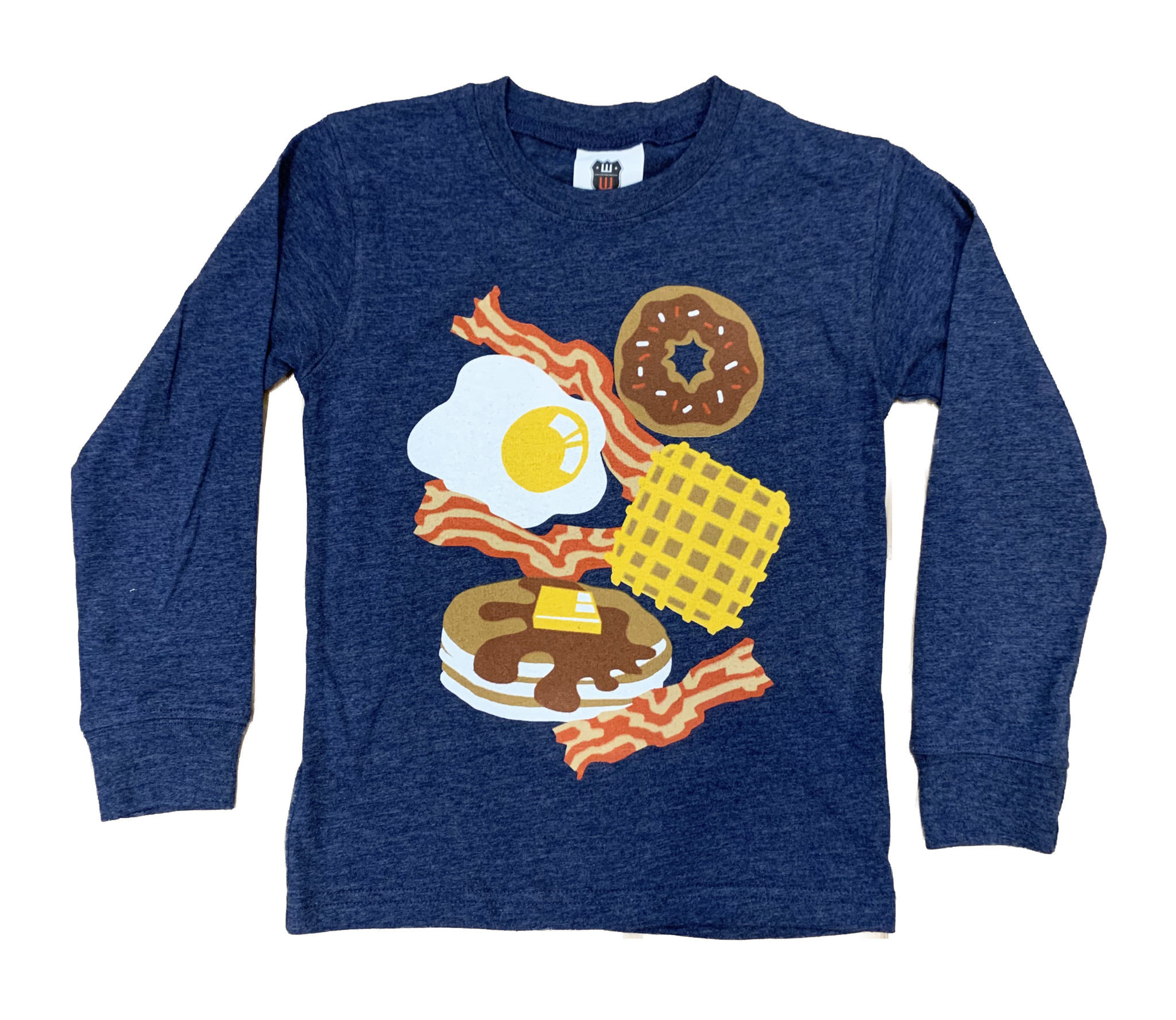 Wes & Willy Heather Navy Breakfast Top