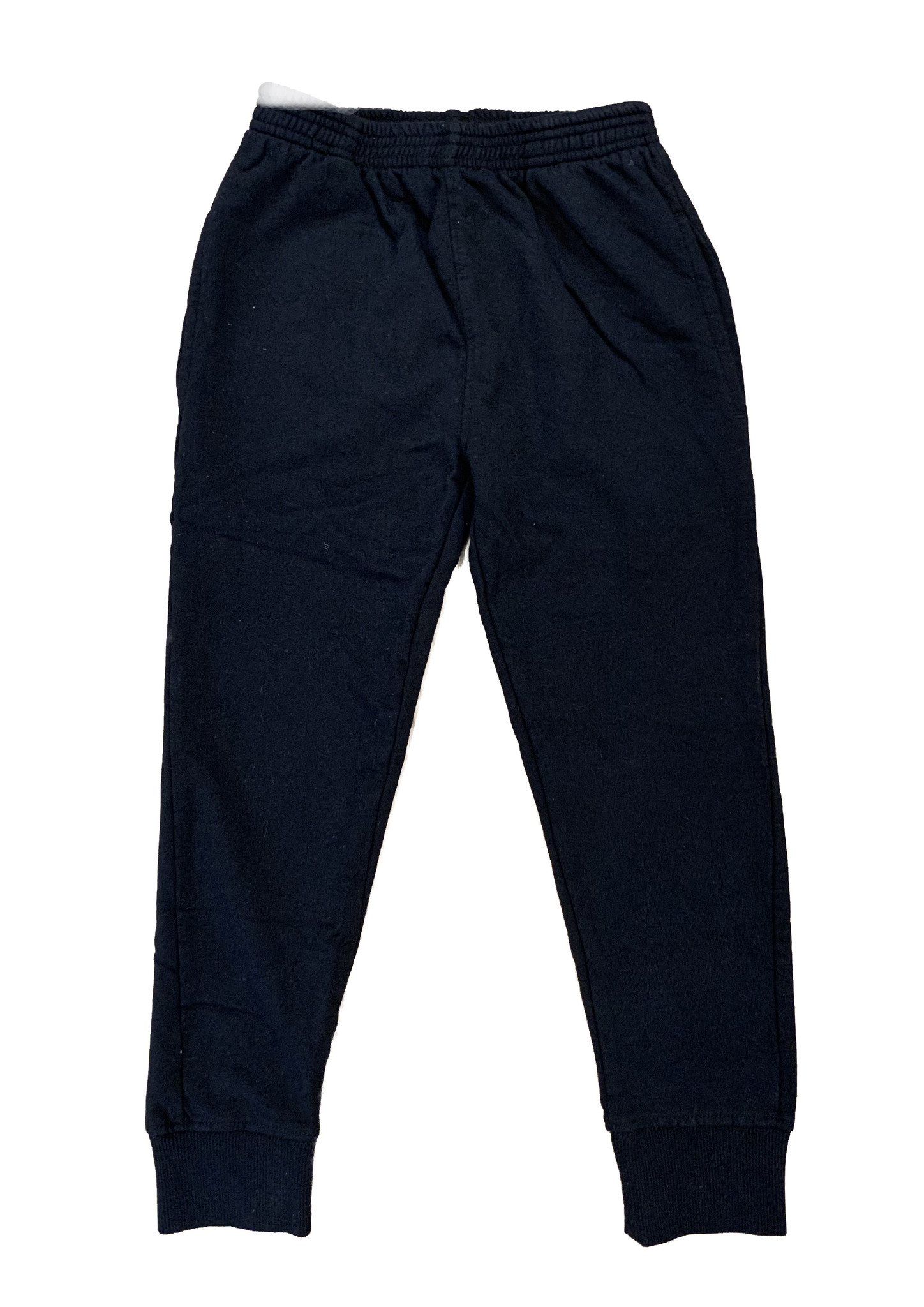 Wes & Willy Solid Black Sweatpants