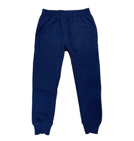 Wes & Willy Solid Navy Sweatpants