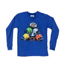 Wes & Willy Heather Blue Helmet Top