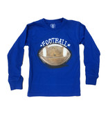 Wes & Willy Royal Blue Football Top