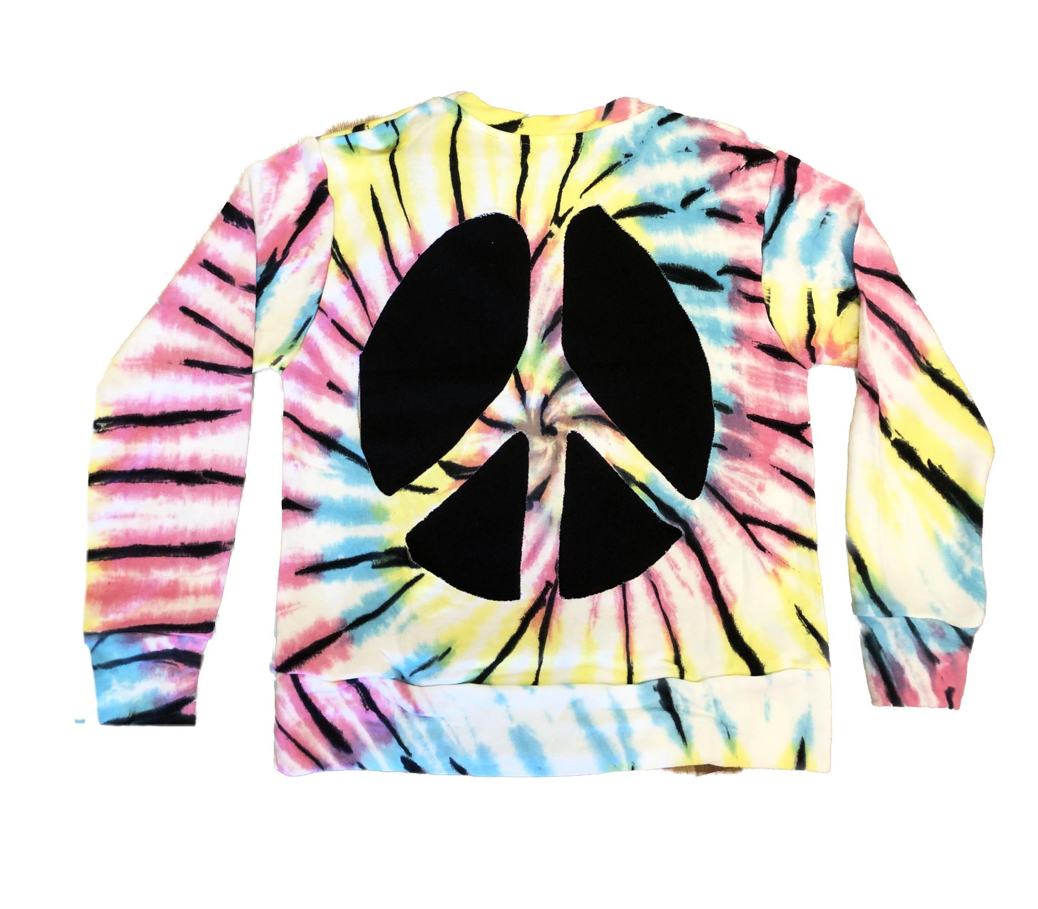 Flowers by Zoe Rainbow TD Top w/ Open Peace Back
