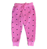 T2Love Hot Pink Sweatpant with Hearts