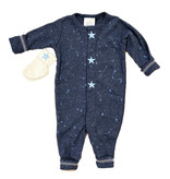 Too Sweet Denim with Lt. Blue Splatter Stars Outfit