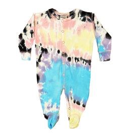 Baby Steps Isla Tie Dye Footie
