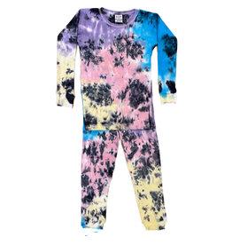 Baby Steps Isla Tie Dye Cotton PJ Set