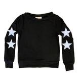 Sparkle Soft Black Star Top