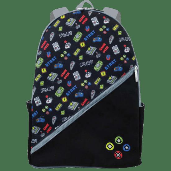 IScream Black Gamer Backpack