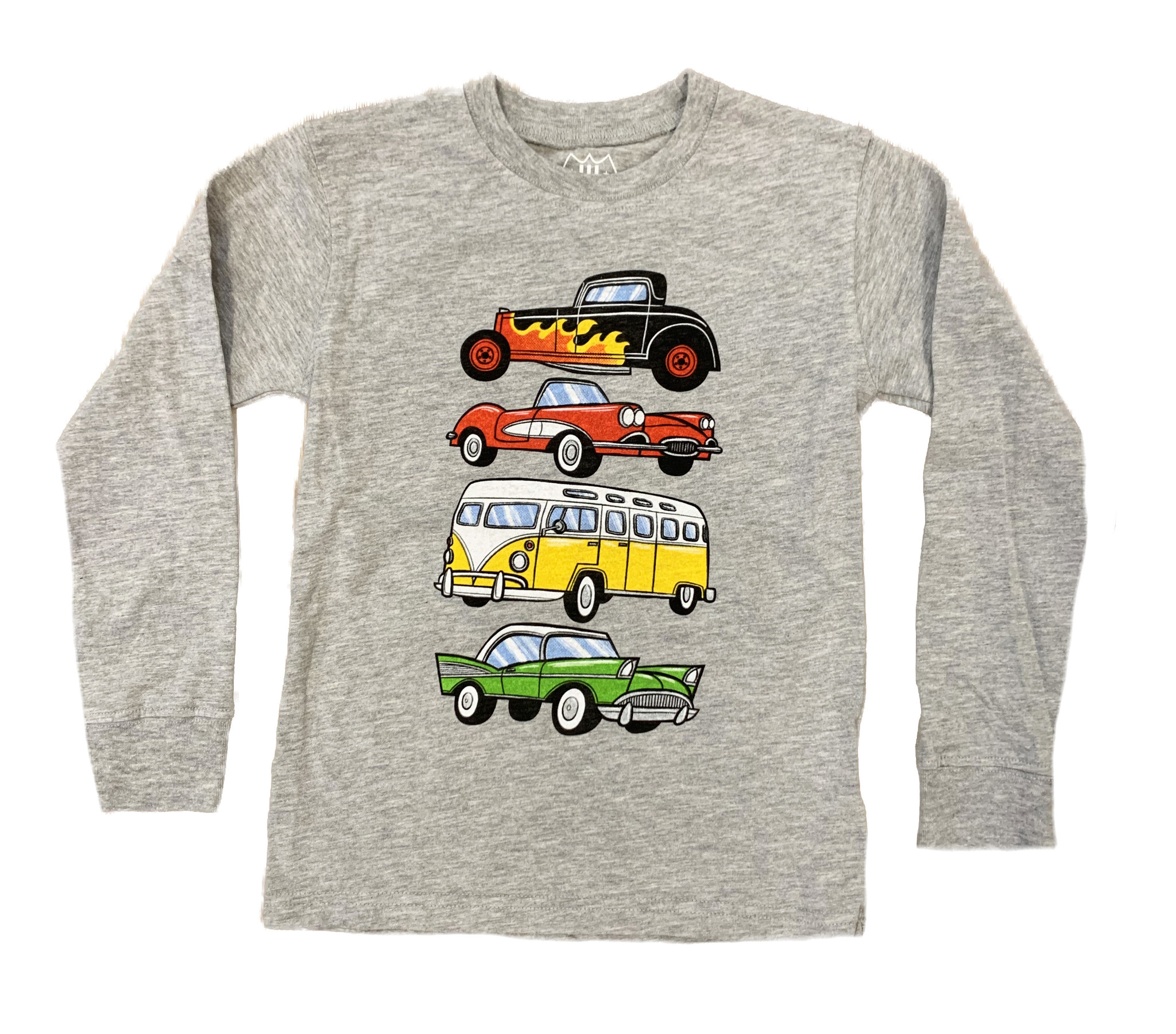 Wes and Willy Vintage Cars Infant Tee