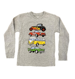 Wes and Willy Vintage Cars Tee