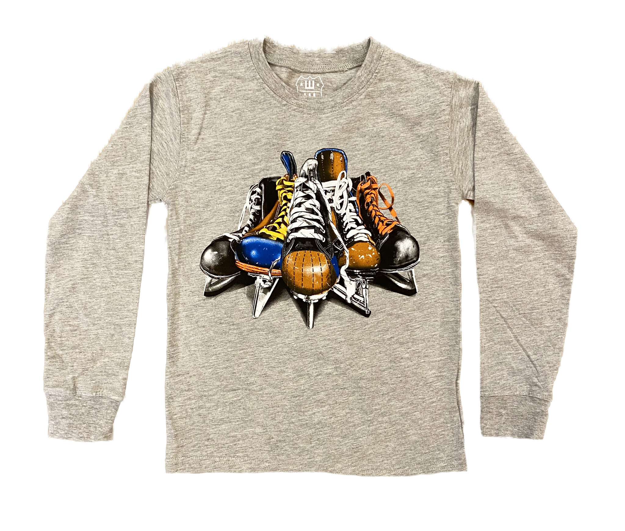 Wes and Willy Hockey Skates Tee